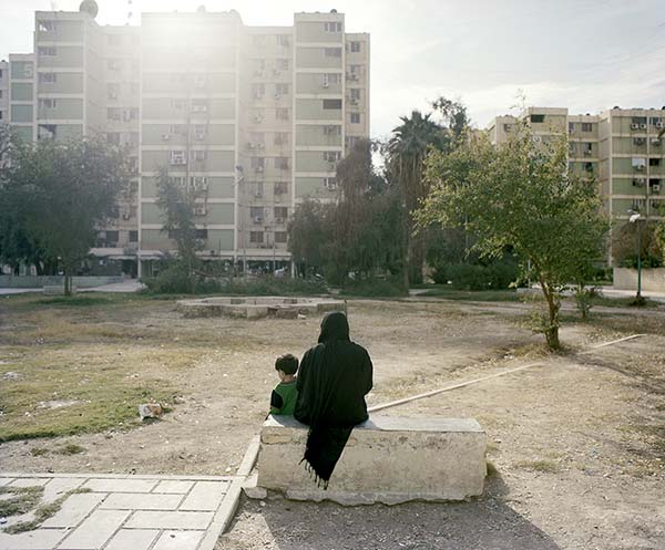 © Antonio Ottomanelli. Al Zawraa residential zone, Baghdad, 2011 (da Collateral Landscapes)