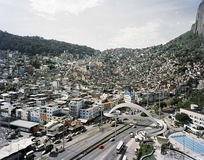 Gabriele Basilico. Rio de Janeiro, 2011. © Archivio Gabriele Basilico