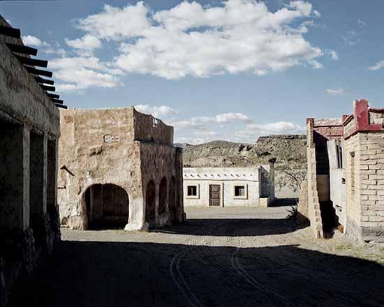 © Alvaro Deprit. Almeria, Andalusia. Deserto di Tabernas, Dicembre 2011. Set Western Costruito nei primi anni sessanta per la ripresa di molti film di Sergio Leone. Courtesy l'autore.