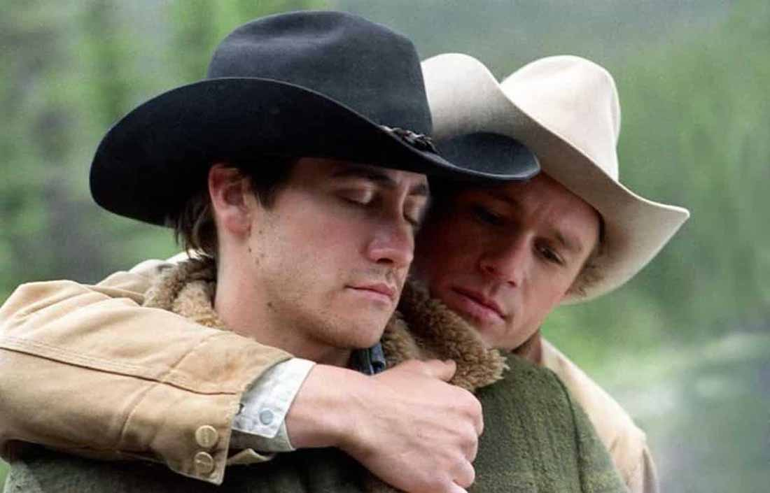 "Frame del film ""I segreti di Brokeback Mountain"" di Ang Lee"