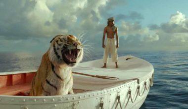 """Frame del film """"Vita di Pi"""" di Ang Lee"""