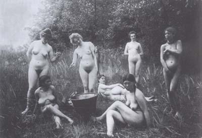 fotografia di un anonimo nel libro Storia della fotografia pornografica di Ando Gilardi
