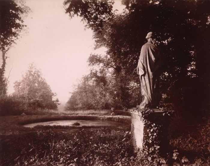 Eugène Atget. Parc de Sceaux, 1925