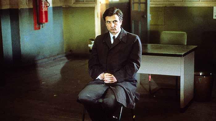 "Jean-Pierre Léaud in ""Ho affittato un killer"" di Aki Kaurismäki (1990)"