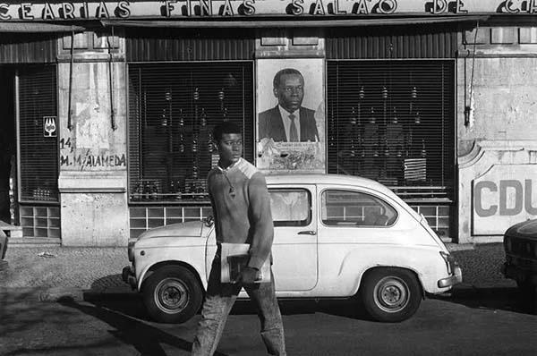 © Bernard Plossu. Portugal, Lisbonne, 1987. Courtesy Galerie Le Rèverbère, Lyon