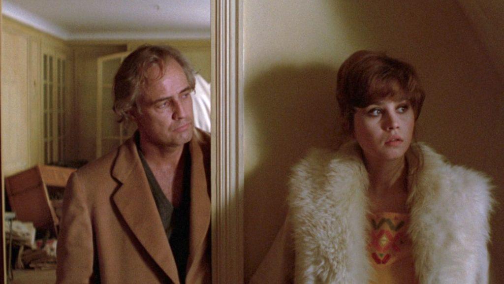 """Frame tratto dal film """"Ultimo tango a Parigi"""" di Bernardo Bertolucci (1972)"""