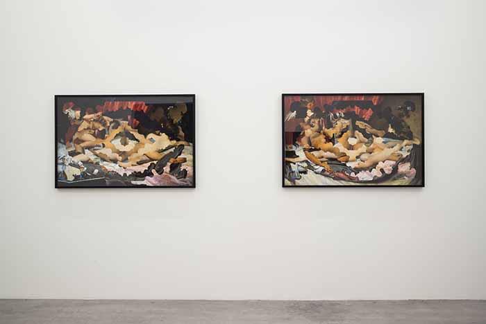 Body Talk. Installation View (WIELS, Bruxelles). Ph. Sven Laurent