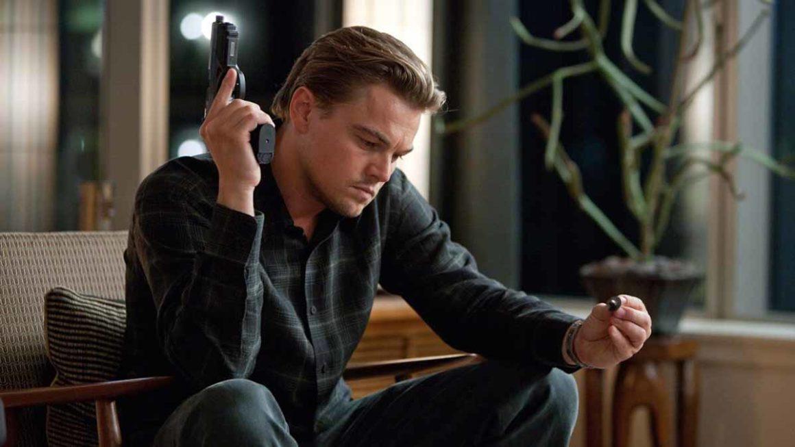 Frame del film Inception di Christopher Nolan