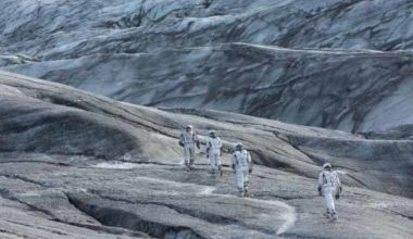 Frame del film Interstellar di Christopher Nolan