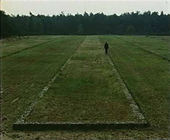 Frame di Shoah di Claude Lanzmann (1985)