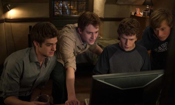 "Frame del film ""The Social Network"" di David Fincher"