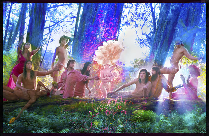 © David LaChapelle. The First Supper, 2017