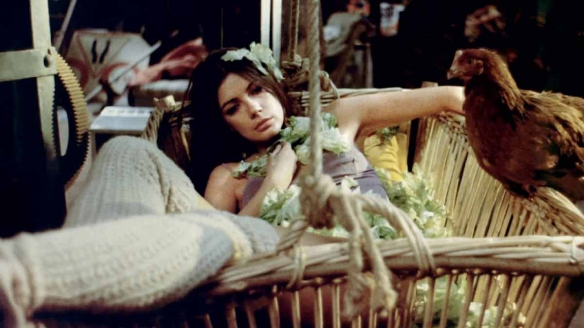 "Frame del film ""Sweet Movie"" di Dusan Makavejev"
