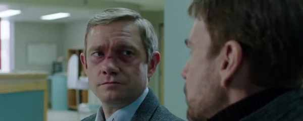 Martin Freeman nel ruolo di Lester Nygaard
