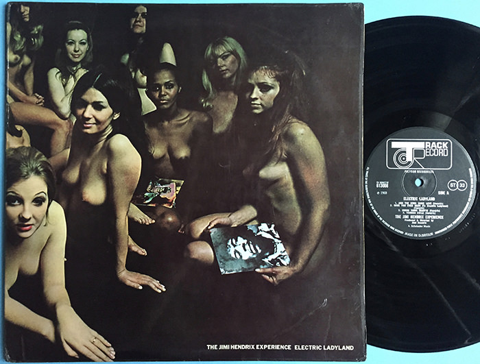 The Jimi Hendrix Experience, Electric Ladyland, Copertina censurata del vinile, 1968, Collezione privata