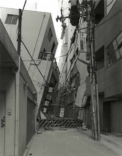 © Ryuji Miyamoto, Sannomiya, Chuo-ku, serie KOBE 1995 After the Earthquake, 1995