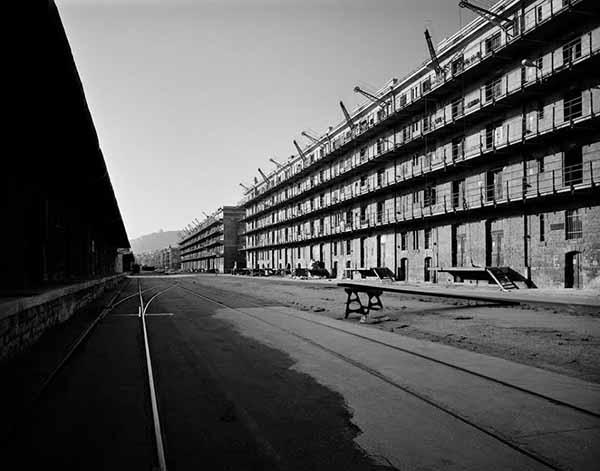 Gabriele Basilico. Trieste, 1985. © Gabriele Basilico / Studio Basilico, Milano