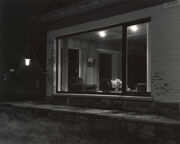 © Gilbert Fastenaekens. Nocturne (Extrait),. Zeebrugge, Belgique 1980