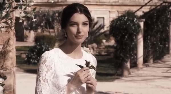 Frame dallo spot Dolce & Gabbana diretto da Gisueppe Tornatore