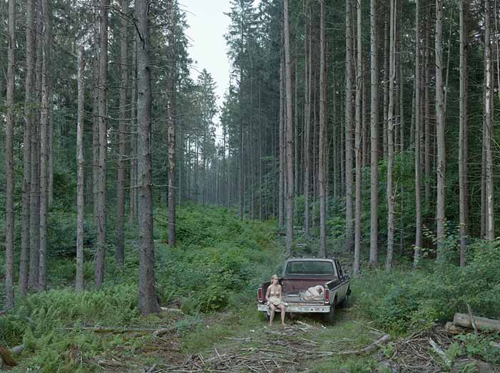 © Gregory Crewdson. The Pickup Truck, 2014. Courtesy Galerie Templon & Gagosian Gallery