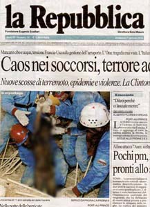 """Immagine tratta da """"La Repubblica"""" del 17.01.2010. La figura al centro è stata sfocata dalla nostra redazione"""