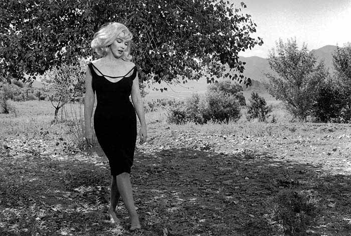 "Marylin Monroe during filming of ""The misfits"", Reno, Nevada, USA 1969. © Inge Morath/Magnum Photo/FOTOHOF Archiv"