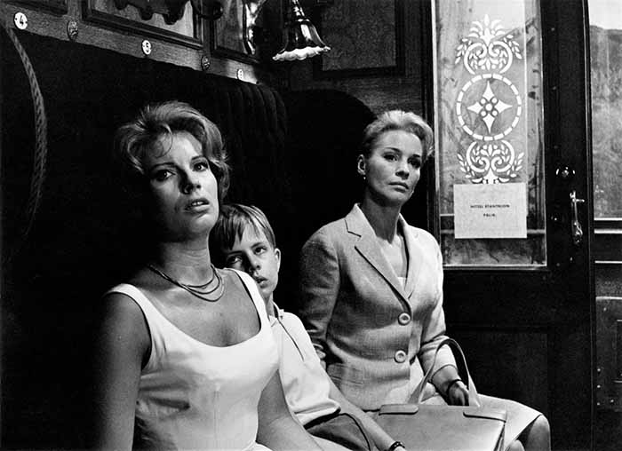 """Frame tratto da """"Il silenzio"""" (1963)"""