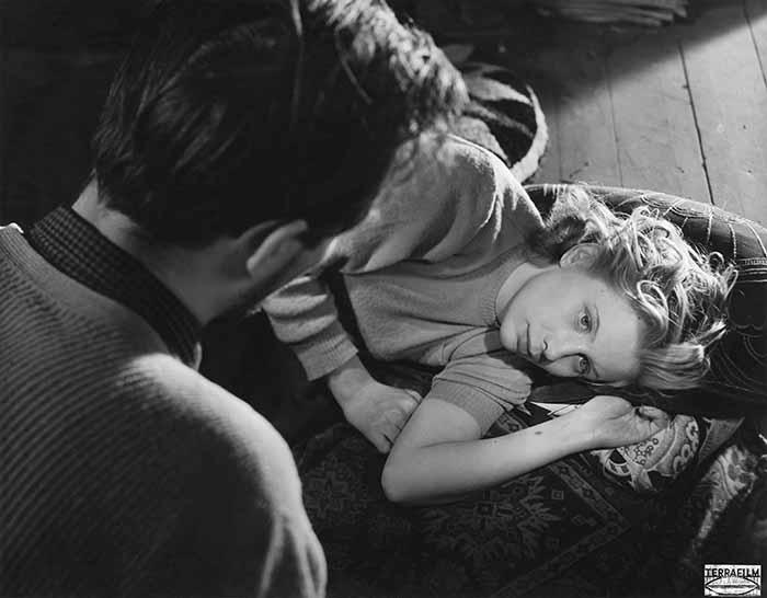 """Frame tratto da """"Prigione"""" (1949)"""