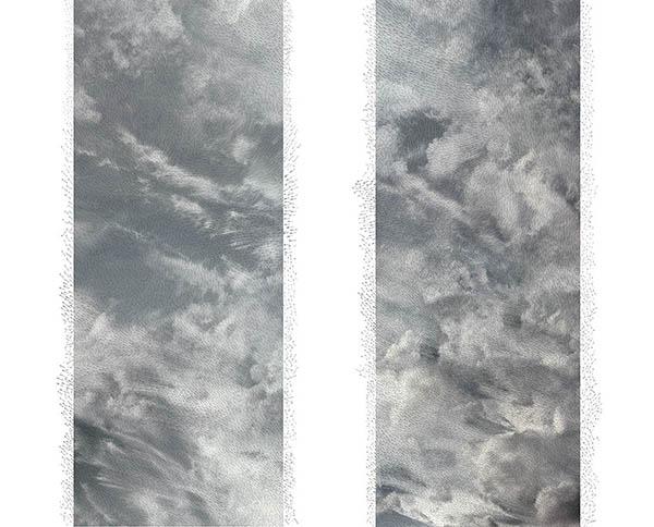 © Jacqueline Salmon. Nuage carte de vents, 2013