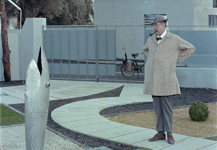 "Frame tratto dal film ""Mon oncle"" di Jacques Tati"