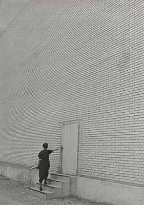 Facciata, fabbrica di costruzioni meccaniche Oerlikon, 1936. © Jakob Tuggener Foundation, Uster