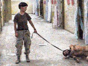 Joan Fontcuberta. Googlegramma. Abu Ghraib,
