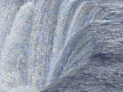 Joan Fontcuberta. Googlegramma. Niagara