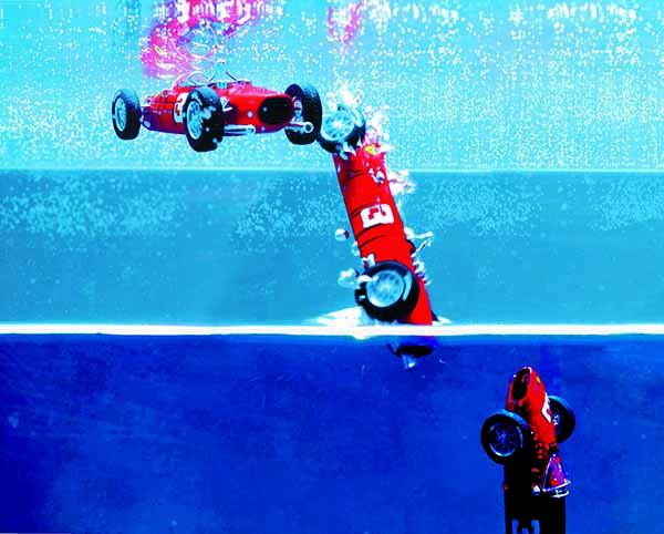 Red Cars. Sceneggiatura di David Cronenberg e installazione multimediale.