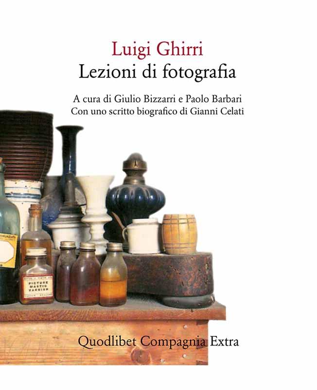 Il libro Lezioni di fotografia del fotografo italiano Luigi Ghirri
