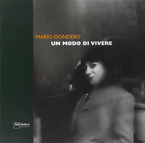 """Copertina del libro """"Un modo di vivere"""" di Mario Dondero pubblicato da Edizioni della Meridiana, 2004"""