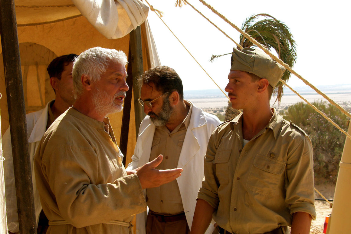 Frame del film Le rose del deserto di Mario Monicelli