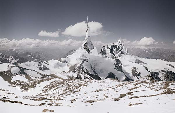 "© Michael Najjar. ""nasdaq_80-09.  From the series ""high altitude"" 2008 – 2010. Original size: 202 x 132 cm"