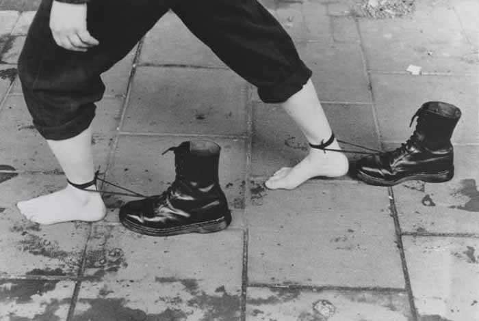 © Mona Hatoum. Performance Still 1985, printed 1995