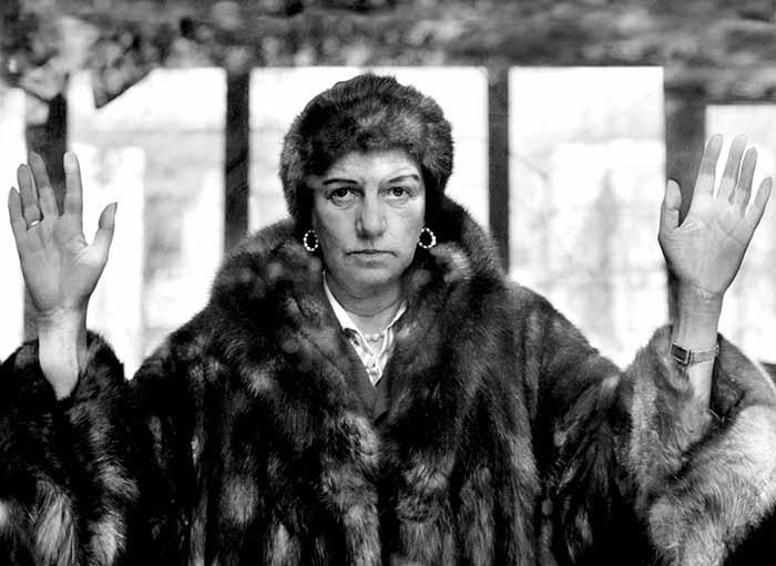 Nino Migliori. Peggy Guggenheim – 1958. © Fondazione Nino Migliori