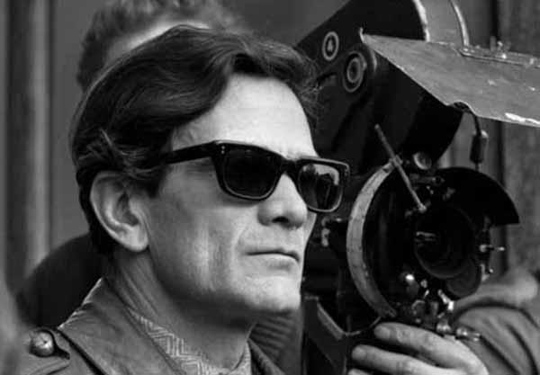 Pier Paolo Pasolini. Courtesy Mostra Internazionale del Nuovo Cinema di Pesaro