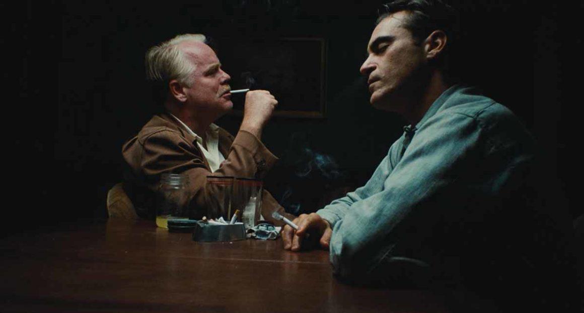 Frame del film The Master di Paul Thomas Anderson