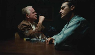 Frame del film The Master di Paul Thomas Anderson