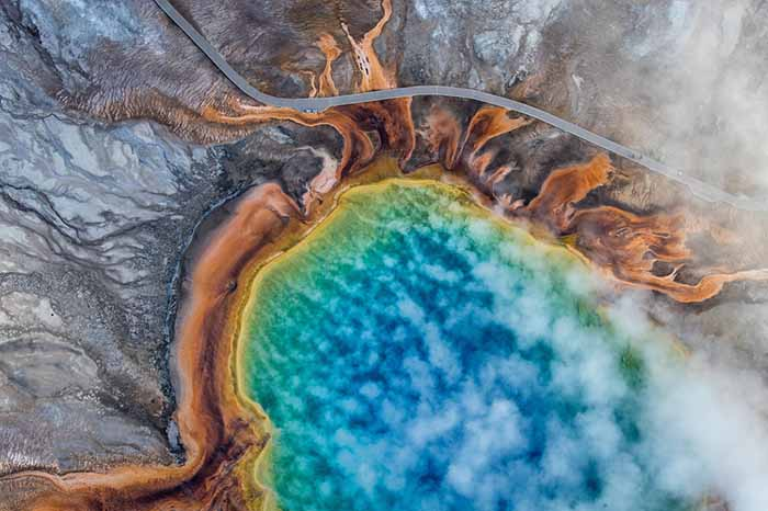 © Josh Haner/The New York Times. Yellowstone National Park, USA, 2018