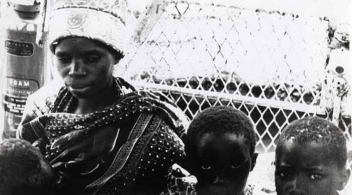 """Frame tratto da """"Appunti per un'Orestiade africana"""" di Pier Paolo Pasolini"""