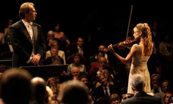 "Frame del film ""Il concerto"" di Radu Mihaileanu"