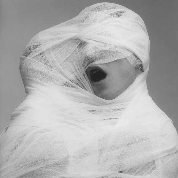 Robert Mapplethorpe, White Gauze, 1984. © Robert Mapplethorpe Foundation. Used by permission