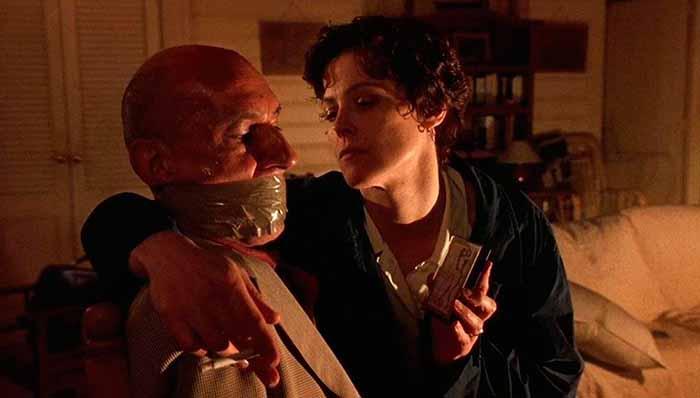 Frame tratto da La morte e la fanciulla di Roman Polanski
