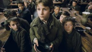"Frame del film ""Oliver Twist"" di Roman Polanski"