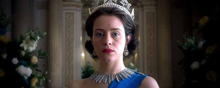 "Frame tratto dalla serie Tv ""The Crown"""